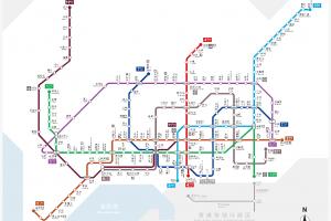 深セン地下鉄マップ2016年