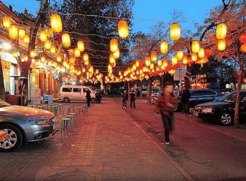 北京夜市風景