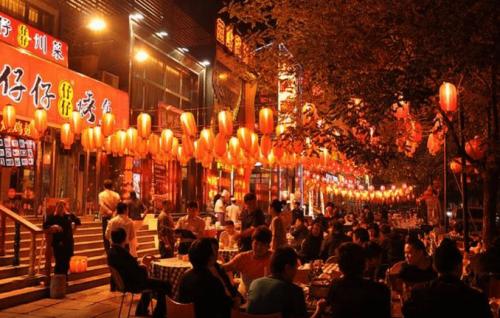 北京夜市道