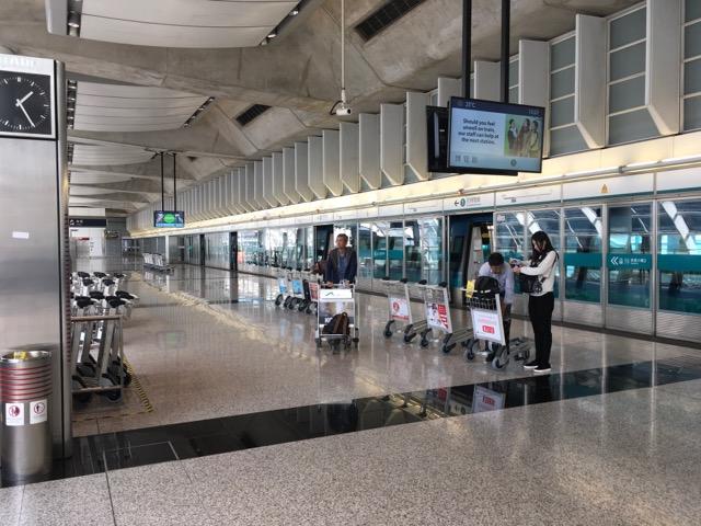 香港空港線ホーム