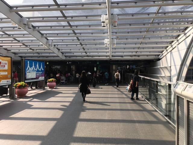 香港空港入口