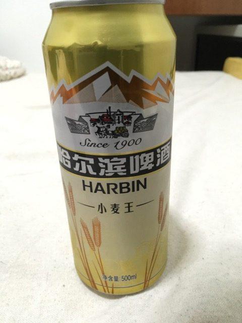 ハルピンビール金表面