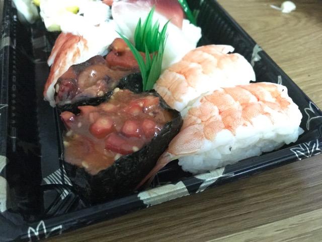 中国お寿司の謎のネタ