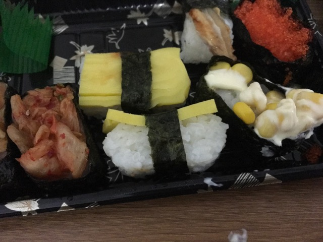 中国のお寿司
