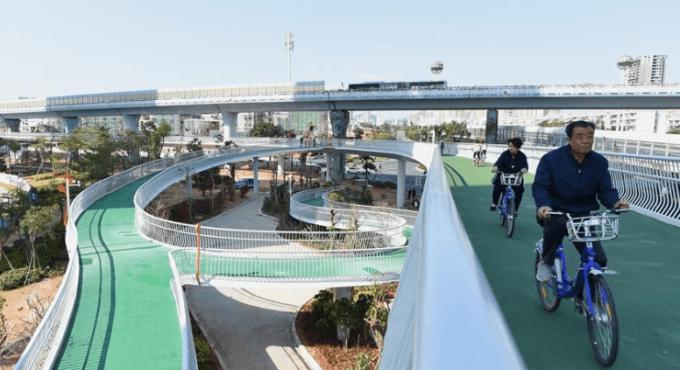 マカオ自転車道